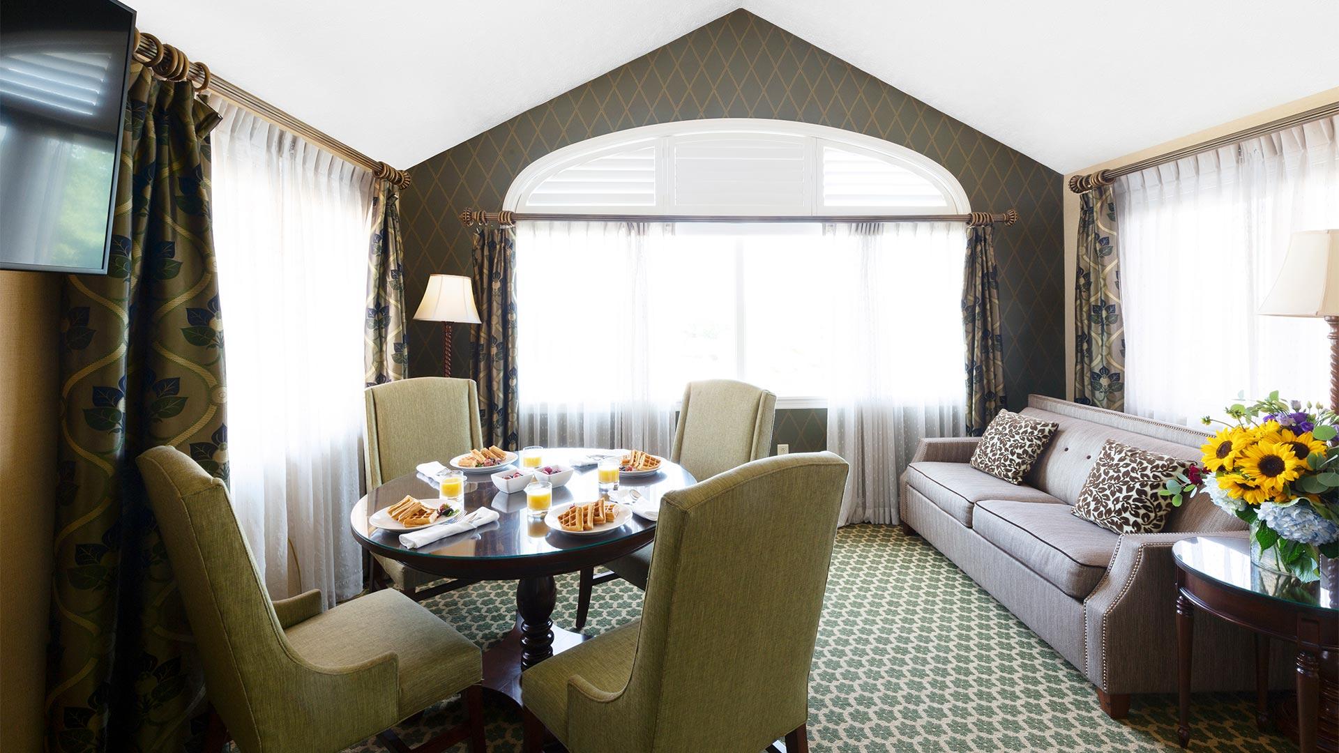 Lodge Parlor Suite Interior