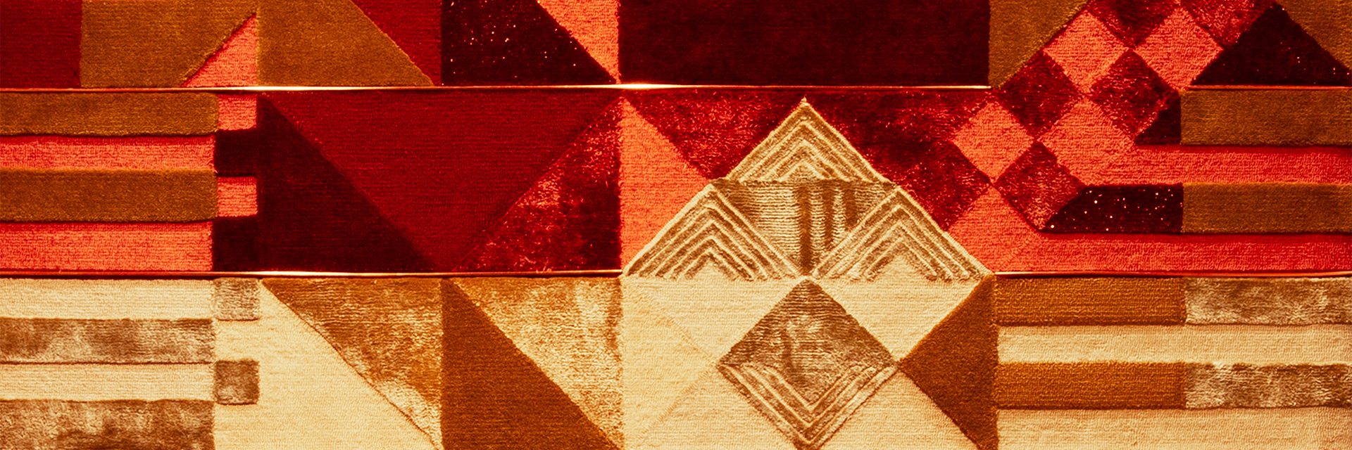 red and tan pattern