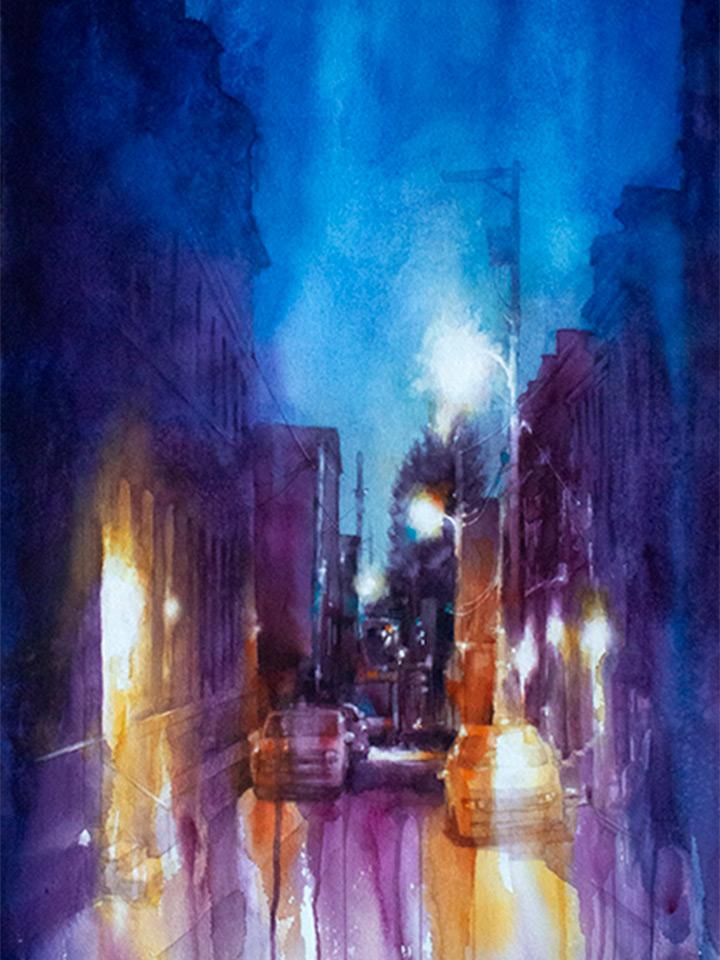 Alpine Street II by Peggi Habets