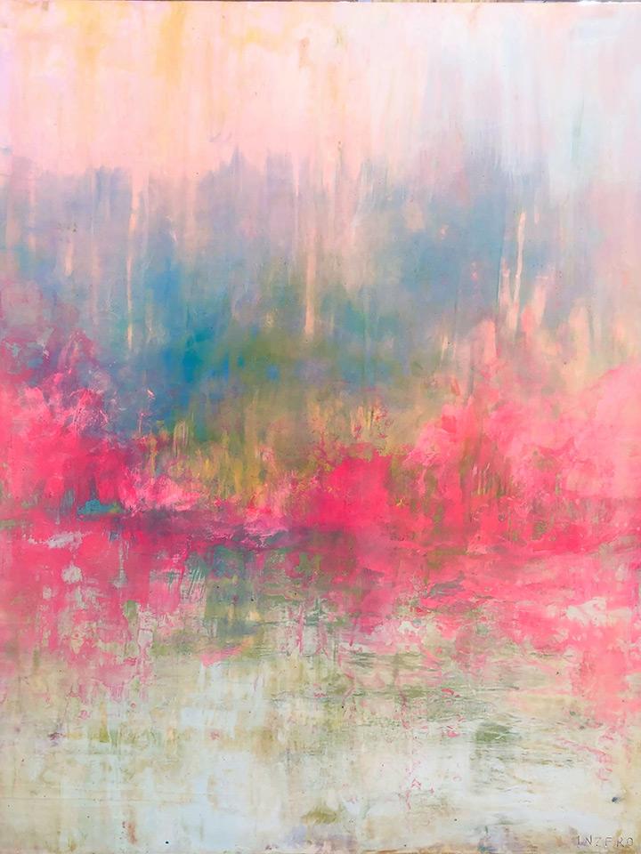 Lake Mist by Jim Inzero