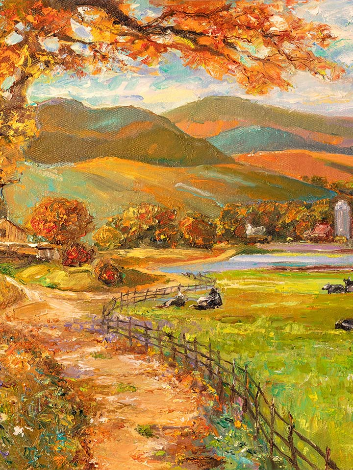 Autumn Afternoon by Pakan Penn