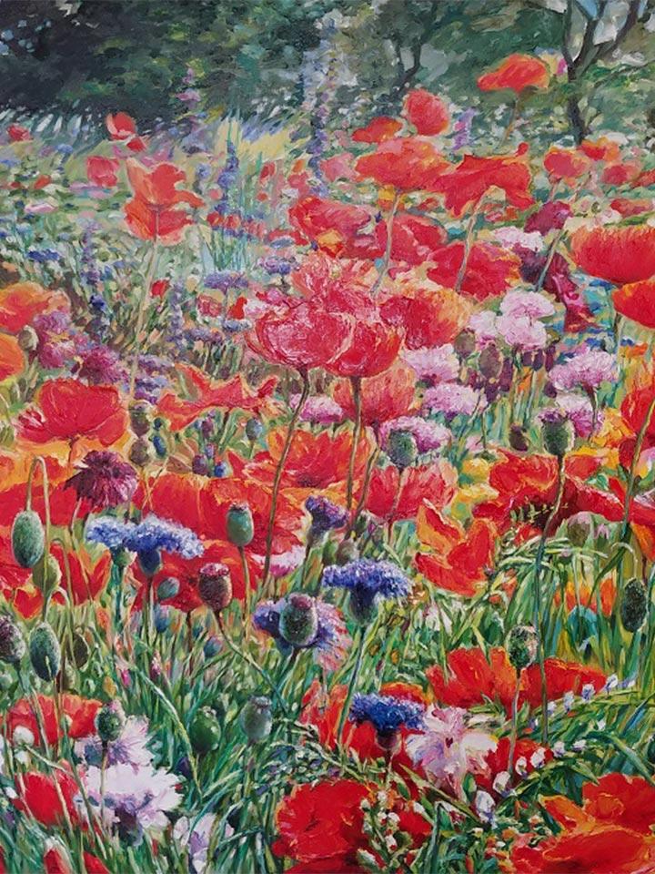 Poppy Hill by Pakan Penn