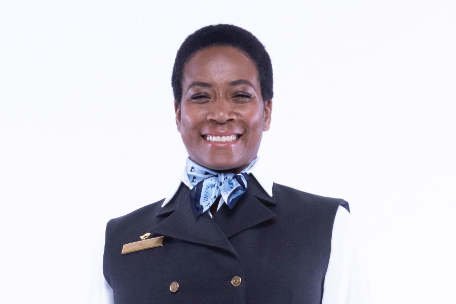 Woman in a Nemacolin uniform